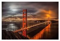 Golden Gate Evening Fine Art Print