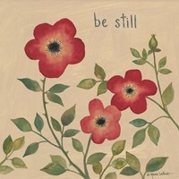 Be Still Roses Fine Art Print