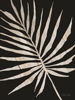 Palm Frond Wood Grain IV Fine Art Print
