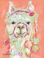 Llama Love Fine Art Print