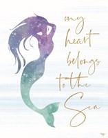 My Heart Belongs to the Sea Fine Art Print
