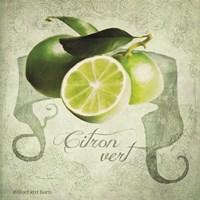 Vintage Limes Citron Fine Art Print