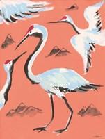 Storks II Fine Art Print