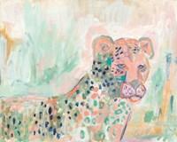 Cheetah Watch t Fine Art Print