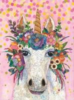 Botanical Unicorn Fine Art Print