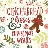 Gingerbread Kisses Fine Art Print