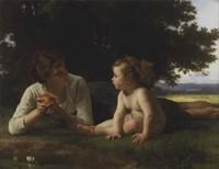 Temptation, 1880 Fine Art Print