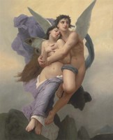 The Abduction of Psyche, 20th - 21st Century Fine Art Print