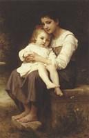 The Eldest Sister, 1886 Fine Art Print