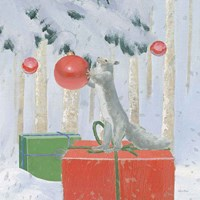 Christmas Critters Bright VII Fine Art Print