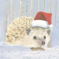 Christmas Critters Bright IX Fine Art Print
