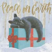 Christmas Critters Bright II Fine Art Print