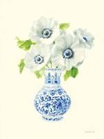 Floral Chinoiserie I Fine Art Print
