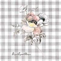 Sketchbook Garden X Checker Blessed Fine Art Print