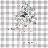 Sketchbook Garden VIII Checker Gather Fine Art Print