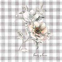 Sketchbook Garden VII Checker Family Fine Art Print