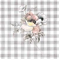 Sketchbook Garden X Checker Fine Art Print