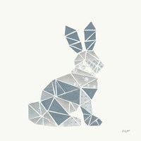 Geometric Animal III Fine Art Print