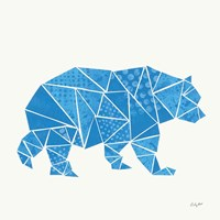 Geometric Animal I Fine Art Print