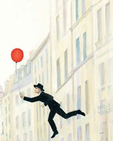 Aloft In Paris III Fine Art Print