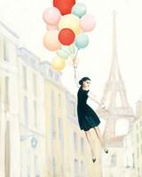 Aloft In Paris II Fine Art Print