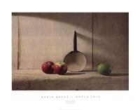 "Apple Trio by David Brega - 36"" x 28"""