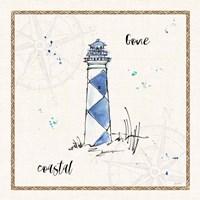 Coastal Buoys IV Coastal Fine Art Print