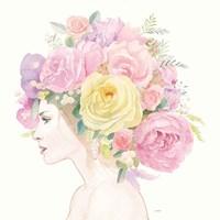 Flowers in her Hair Fine Art Print