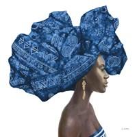 Pure Style II Blue Fine Art Print