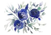 Blue Roses Fine Art Print