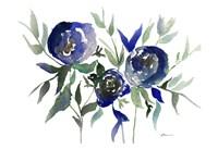 Blue Roses 2 Fine Art Print