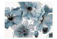 Blue Poppy Bouquet Fine Art Print