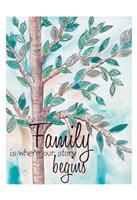 Family Tree 2 Fine Art Print