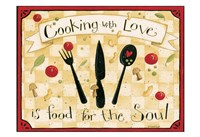 Cooking With Love Fine Art Print