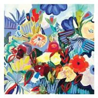 Fancy Flowers Fine Art Print