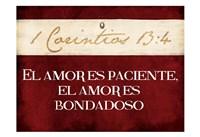 Corintios El Amor Fine Art Print