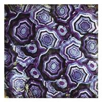 Mix Of Purple Chips Fine Art Print