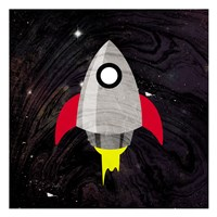 Spaceship Adventure Fine Art Print