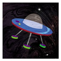 Spaceship Adventure Four Fine Art Print