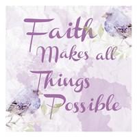 Lavender Faith 2 Fine Art Print