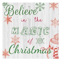 Christmas Typo 2 Fine Art Print