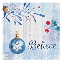 Christmas Believe Fine Art Print