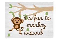 Monkey Around 2 Fine Art Print