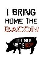 Bacon Boss Fine Art Print