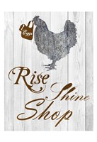 Rise And Shop Fine Art Print