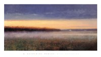 """Mist Hovering by M. Katherine Hurley - 39"""" x 22"""""""