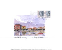 Isola Elba Framed Print