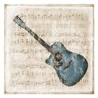 Acoustic Blues Framed Print