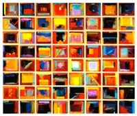 64 Abstract Paintings Fine Art Print
