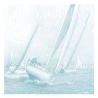 Boating On The Seas Fine Art Print
